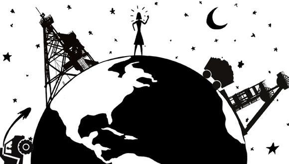 """""""Nuestros esfuerzos han ayudado a cambiar la conversación sobre el cambio climático"""". (Ilustración: Giovanni Tazza)"""