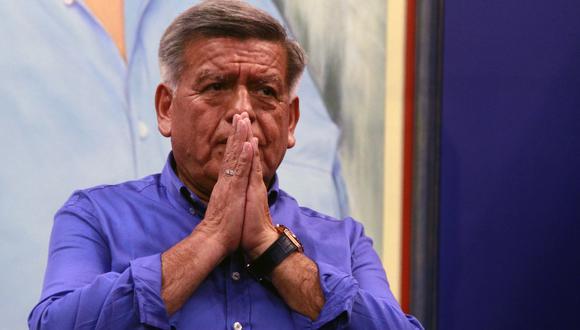 César Acuña: JEE excluye a candidato presidencial de APP. Foto: GEC