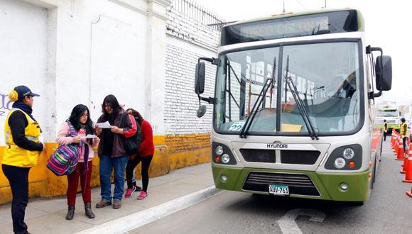 La comuna capitalina detalló que el Servicio 508 tiene un recorrido de 22.73 kilómetros y 46 paraderos en ambos sentidos. (Protransporte/Facebook)