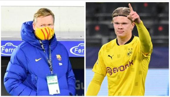 Erling Haaland tiene contrato con Borussia Dortmund hasta junio del 2024. (Foto: AFP)