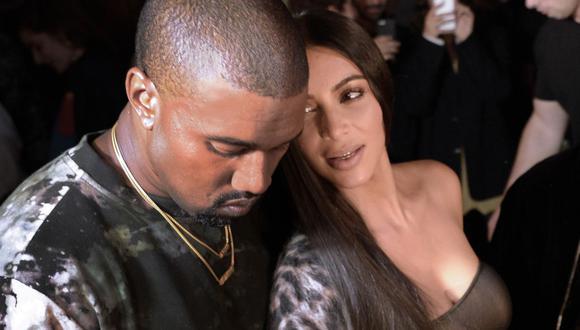 Kim Kardashian y Kanye West estarían a un paso de divorciarse. (Foto: AFP/Alain Jocard)