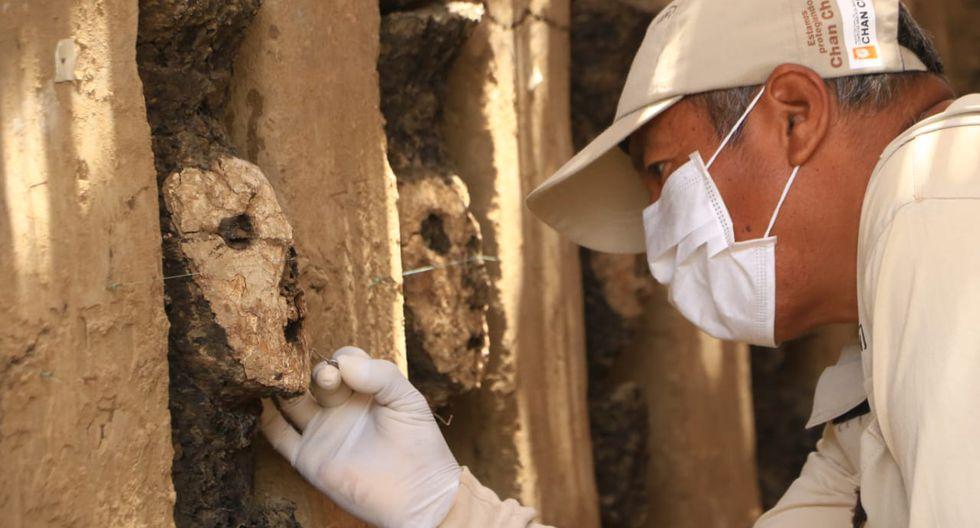 Nuevo hallazgo en Chan Chan: encuentran enterradas 19 estatuillas preíncas   FOTOS