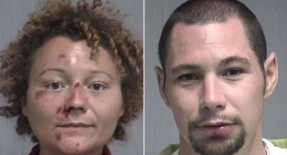 Megan Mondanaro y Aaron Thomas fueron detenidos por conducir bajo efectos del alcohol.