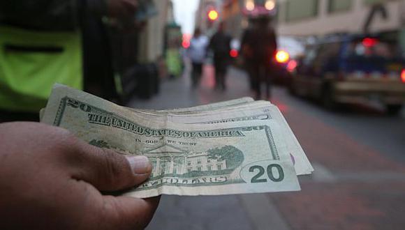 El valor del dólar se ha fortalecido 4.66% en lo que va del 2018. (Foto: El Comercio)