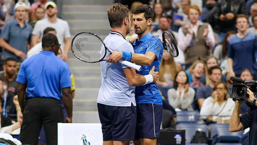Djokovic vs. Wawrinka: mejores imágenes del partido. (Foto: AFP)