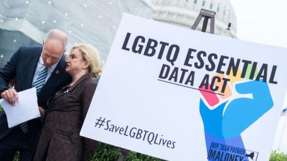Existen varias iniciativas legislativas para ampliar el abanico de protecciones al colectivo LGTBI en Estados Unidos. Foto: Getty images, vía BBC Mundo