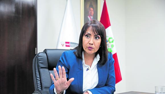 María Jara recibó a El Comercio para declarar sobre sus planes para solucionar el caos del transporte, las mafias de revisiones técnicas y brevetes y el Club de la Construcción.