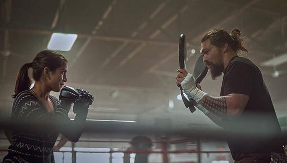 """Jason Momoa e Isabela Merced protagonizan la película """"Sweet Girl"""". (Foto: Netflix)"""