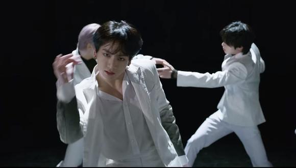 """BTS sorprendió a todos con el estreno del videoclip de """"Black Swam"""". (Foto: Captura)"""