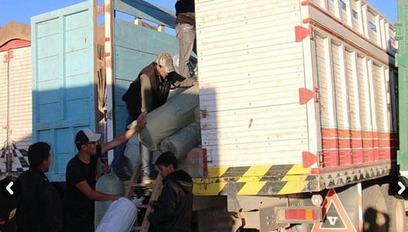 Trasladan a Lima más de 100 toneladas de contrabando desde Puno