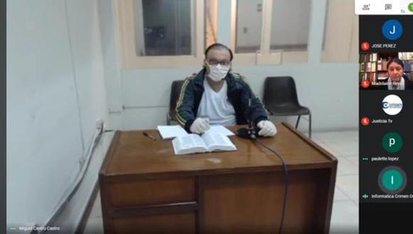Pier Figari se encuentra recluido el penal Castro Castro. (Imagen: Poder Judicial)