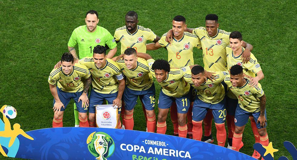 Colombia tiene mejor promedio que Brasil en cuanto a puntos, pero fue eliminado en cuartos de final. (Foto: AFP)