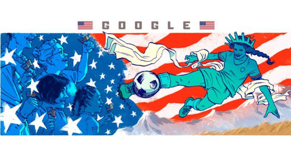 Google celebra la octava edición del torneo con una serie de doodles de artistas invitados que representan a cada uno de los países competidores. (Foto: Google)