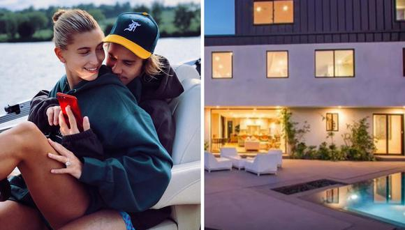 Justin Bieber y Hailey Baldwin, en buscade su nuevo hogar visitan la mansión de Demi Lovato donde sufrió una sobredosis   Foto: Captura de YouTube/Instagram