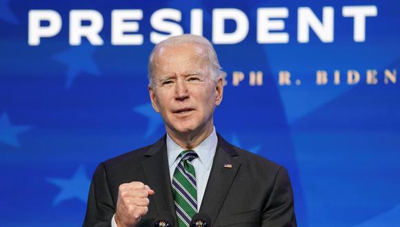 El presidente electo de Estados Unidos, Joe Biden. REUTERS/Kevin Lamarque