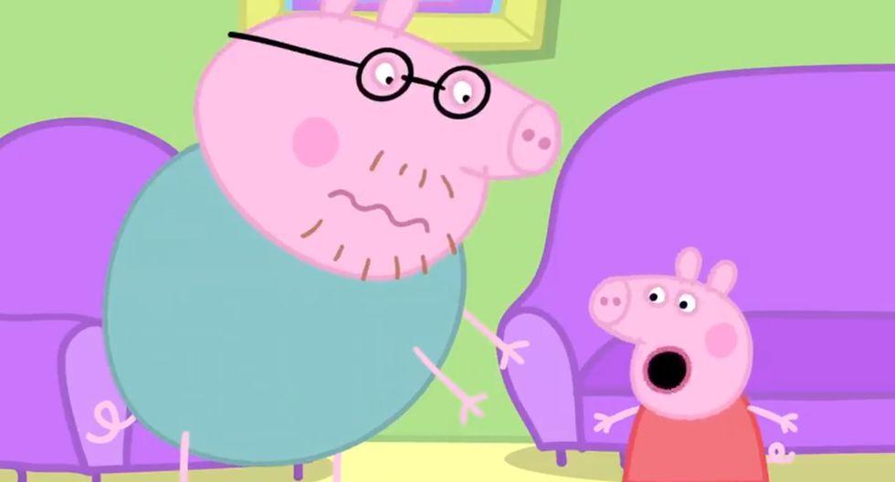 """""""Peppa Pig"""". Foto: Difusión."""