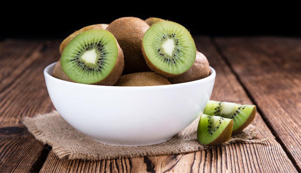 2 Kiwis tienen 5 gramos de fibra. (Foto: Shutterstock)