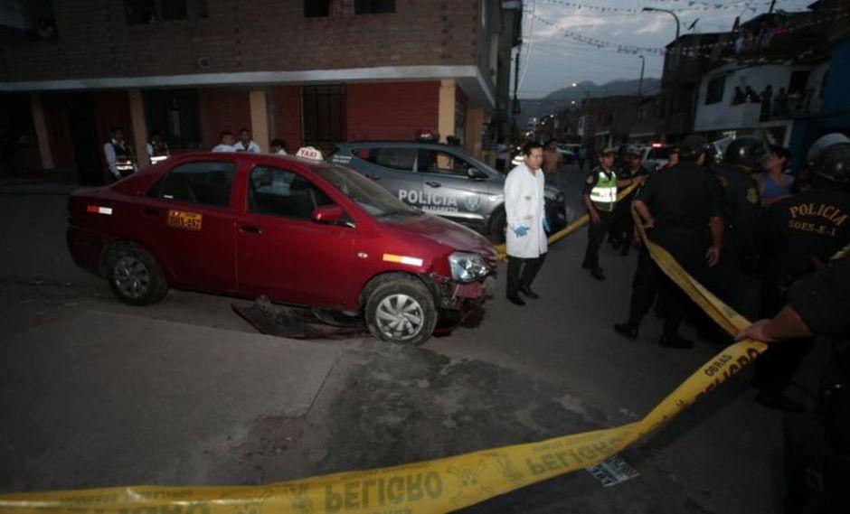 El taxista Miguel Ángel Oré Soldevilla murió durante una intervención policial en San Juan de Lurigancho. (Kelvin García/GEC)