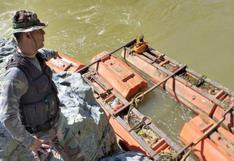 Cajamarca: destruyen 18 dragas y equipos de minería ilegal en la frontera con Ecuador