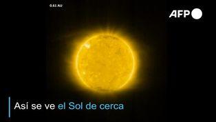 El Sol de cerca: así son las primeras imágenes de la sonda Solar Orbiter
