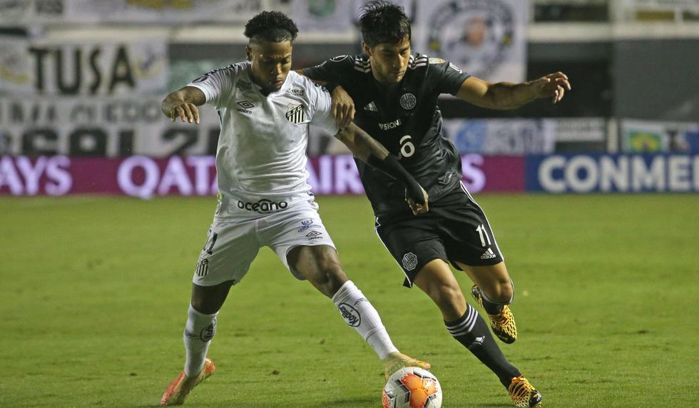 Santos vs. Olimpia: las imágenes del partido por la Copa Libertadores   Foto: EFE