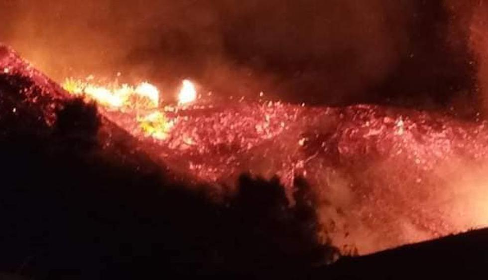 El siniestro se produjo en una zona de pastizales. (Foto: Facebook de Samanco noticias)