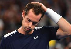 Andy Murray confirma su baja para el Abierto de Australia 2021 debido a COVID-19