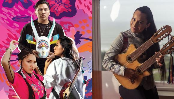 Sonidos autóctonos, ritmos electrónicos y urbanos, y la dulce voz del quechua conforman la fórmula perfecta de jóvenes talentosos del nuevo panorama musical.  (Diseño: Verónica Calderón / Foto: Elías Alfageme)