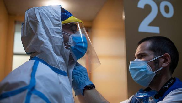 Coronavirus en España   Ultimas noticias   Último minuto: reporte de infectados y muertos jueves 6 de mayo del 2020   Covid-19   (Foto: AFP / Josep LAGO).