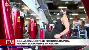 Coronavirus en Perú: gimnasios presentan protocolo de bioseguridad para posible retorno