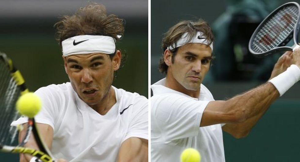 Nadal y Federer avanzan a octavos de final en Wimbledon