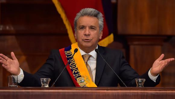 El mandatario ecuatoriano había asistido a la toma de mando de Sebastián Piñera en Chile. (AFP)