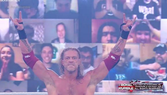 Royal Rumble 2021: Edge ganó la Batalla Real e irá a WrestleMania a pelear por el Título de WWE