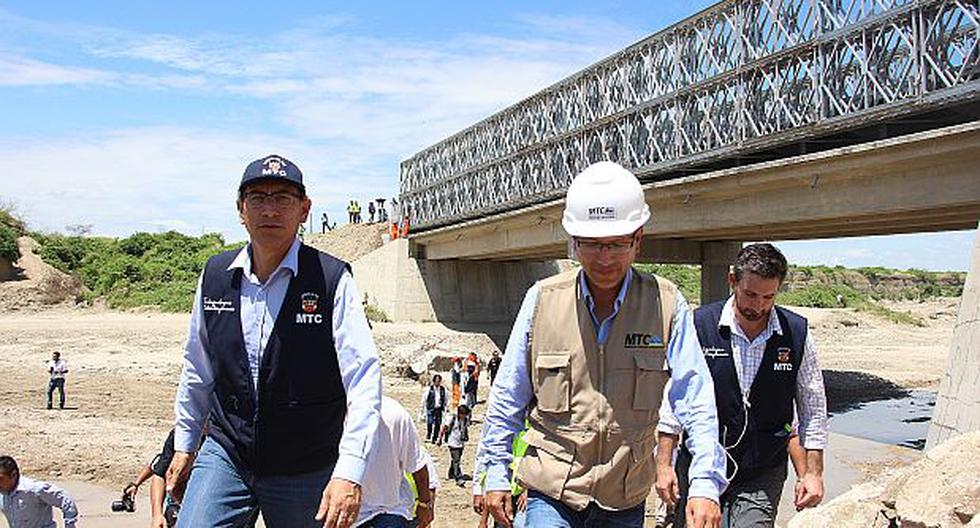"""Vizcarra: """"Este año se instalarán 20 puentes en la región"""" - 1"""