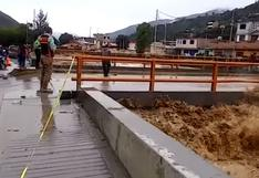 Huánuco: río Huallaga se desborda en la provincia de Ambo | VIDEO