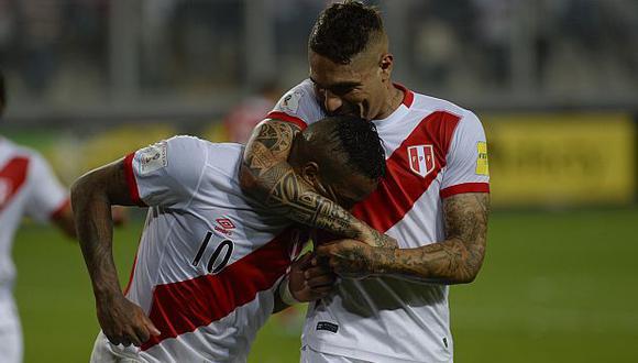 Guerrero y Farfán son dos de los principales referentes de la selección peruana. (Foto: AFP)