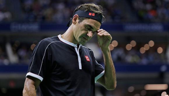 Roger Federer cayó ante Grigor Dimitrov en cuartos de final del US Open. (Foto: AFP)