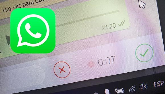 Ahora no hay excusas para no escuchar un mensaje de voz por WhatsApp (Foto: Depor / Archivo)