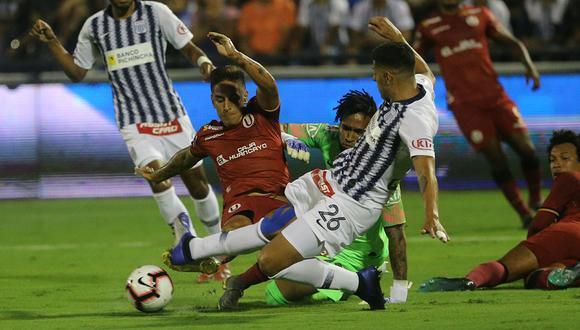 Universitario se llevó el primer clásico en Matute por 3 tantos a 2.   Andina