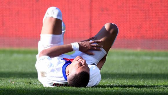 Kylian Mbappé suma ocho goles en lo que va de la temporada en Champions League. (Fuente: AFP)