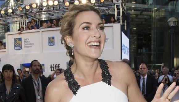 Kate Winslet recibirá el Premio Homenaje del Festival de Cine de Toronto (Foto: Valerie Macon/ AFP)
