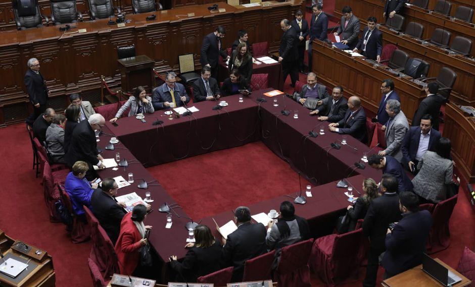 La Comisión Permanente está integrada por representantes de todas las bancadas (Foto: GEC)