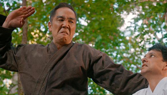 Chozen compartió la técnica secreta de Miyagi-Do con su antiguo rival, Daniel LaRusso (Foto: Netflix)