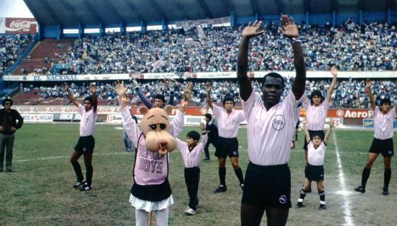 Claudio Adao, el hombre que dormía con Pelé en el Santos y hace 30 años fue el goleador del Boys. FOTO: Archivo Prensmart