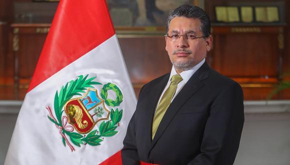 Rubén Vargas dice que cuando uno asume un cargo como el de ministro de Estado, su carta de renuncia siempre está en el escritorio del presidente (Foto: Palacio de Gobierno).