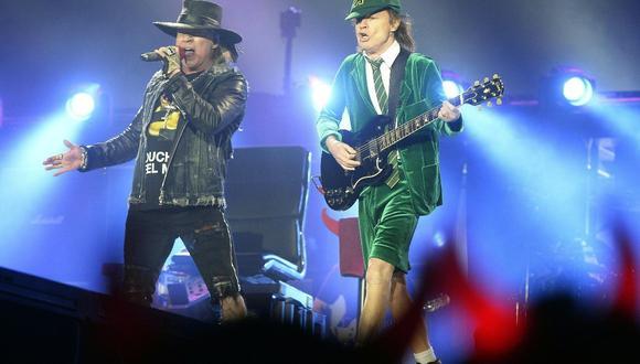 Los australianos AC/DC confirmaron que regresan a la música con su formación original. (Foto: HANS KLAUS TECHT / APA / AFP)