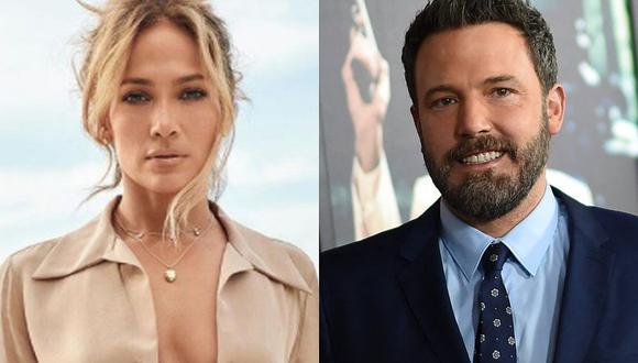 Jennifer Lopez y Ben Affleck se alejarán por una temporada tras confirmar que son nuevamente pareja. (Foto: @jlo Instagram / AFP / Composición)