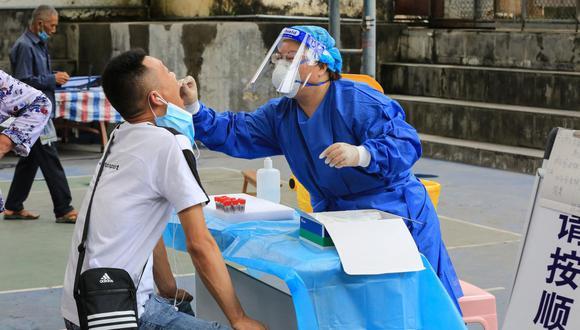 Coronavirus en China| Últimas noticias | Último minuto: reporte de infectados y muertos por COVID-19 hoy, martes 13 de julio del 2021. (Foto: AFP).