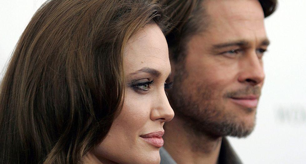 Brad Pitt y Angelina Jolie. (Foto: Agencia)