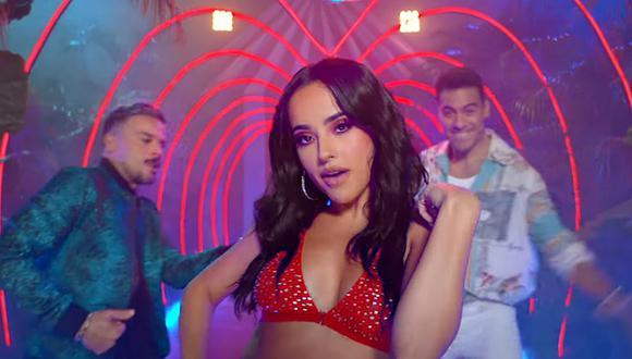 Becky G estrenó su primera canción del año junto a Pedro Capó y Carlos Rivera. (Foto: Captura de video)